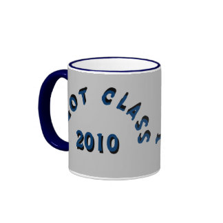 I Got Class (Silver and Navy) Ringer Coffee Mug