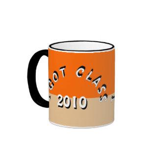 I Got Class (Tangerine and Tan) Ringer Mug