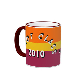 I Got Class (Tangerine, Yellow Gold, and Maroon) Ringer Coffee Mug