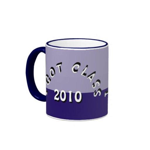 I Got Class (Twilight into Night) Ringer Coffee Mug