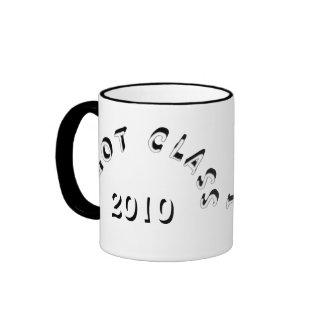 I Got Class (White and Black) Ringer Coffee Mug
