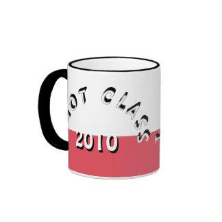 I Got Class (White and Red) Ringer Mug