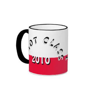 I Got Class (White and Scarlet) Ringer Mug