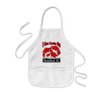 I Got Crabs On Bourbon St. Kids' Apron