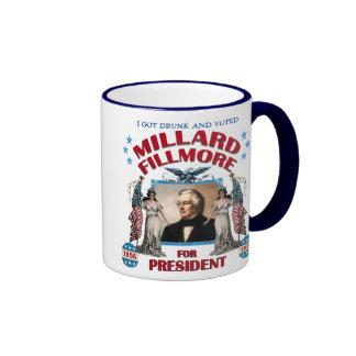 'I Got Drunk and Voted Fillmore!' Mug
