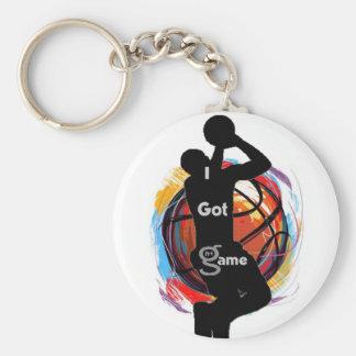 I Got Game (basketball) - Key Chain