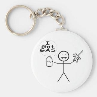 I Got Gas Basic Round Button Keychain