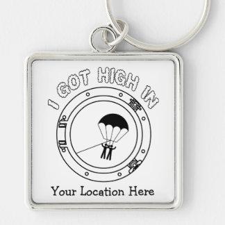 I Got High - Personalized Keychain