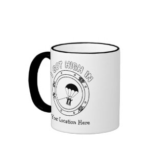 I Got High - Personalized Ringer Mug
