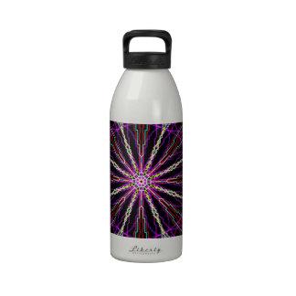 I got inspired artsy print reusable water bottles