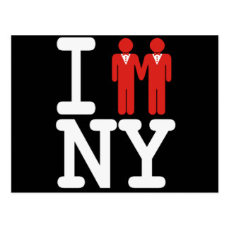 I GOT MARRIED IN NY MEN -.png Post Cards