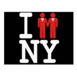 I GOT MARRIED IN NY MEN -.png Postcard