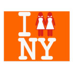 I GOT MARRIED IN NY WOMEN -.png Post Card