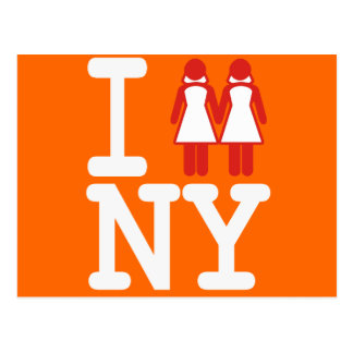 I GOT MARRIED IN NY WOMEN -.png Postcard