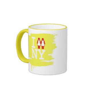 I GOT MARRIED IN NY WOMEN -.png Ringer Mug