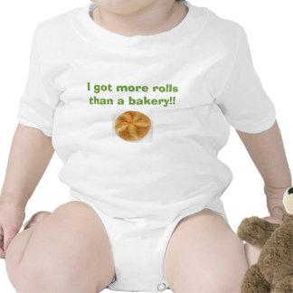 I got more rolls than a bakery t-shirts