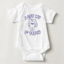 I Got My 1st Tooth Baby Bodysuit