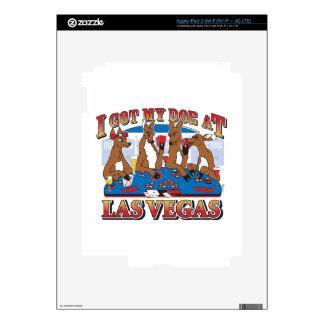 I got my Doe at Las Vegas iPad 3 Decals