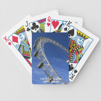 I Got My Eye On London Playing Cards