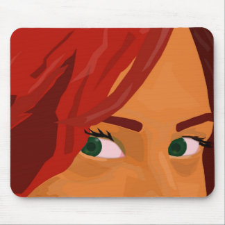 I got my eyes on you mouse pad