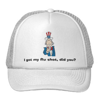 I Got My Flu Shot Trucker Hat