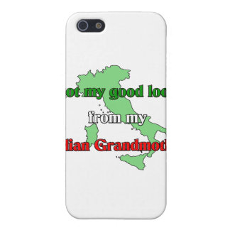I got my good looks from my Italian grandmother Cover For iPhone 5