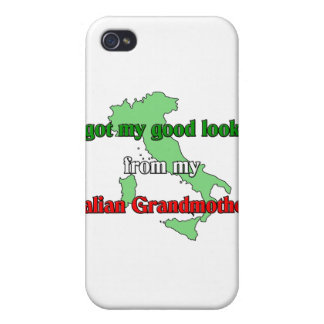 I got my good looks from my Italian grandmother iPhone 4/4S Covers