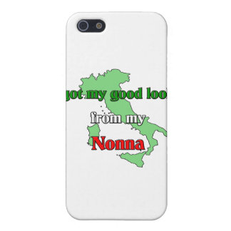I got my good looks from my nonna cover for iPhone 5