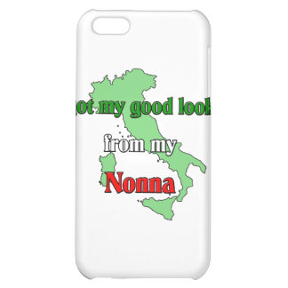 I got my good looks from my nonna iPhone 5C case