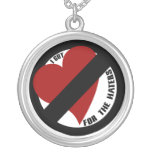 I got no love for the haters necklace