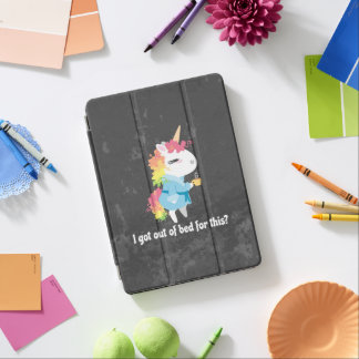 I got out of bed for this? Snarkles the Unicorn iPad Air Cover