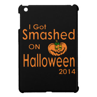 I Got Smashed Pumpkin Halloween 2014 iPad Mini Cover