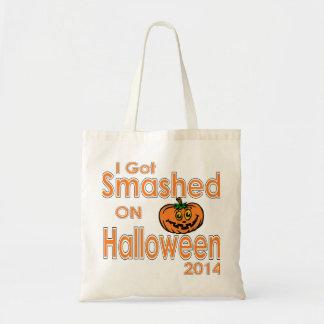 I Got Smashed Pumpkin Halloween 2014 Tote Bag