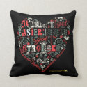 I got stronger - Heart Pillows