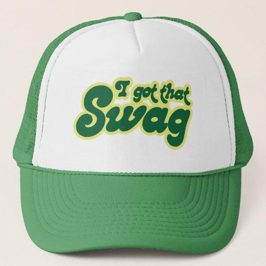 I got swag trucker hat