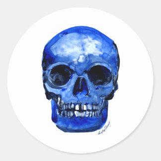 I Got The Blues Classic Round Sticker