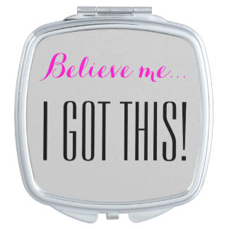 I got this! mirror for makeup