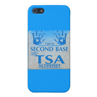 I got to second base with a TSA screener Case For iPhone SE/5/5s
