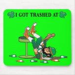 """I Got Trashed"" Mouse Pad"