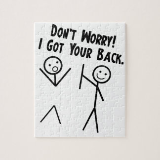 I got your back - Don't Worry Jigsaw Puzzle