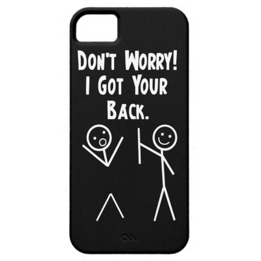 I Got Your Back iPhone 5 iPhone 5 Cover