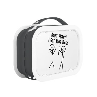 I got your back - Lunch Pack Lunch Box