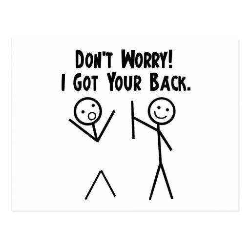 I Got Your Back! Postcards