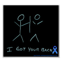 I got your back poster