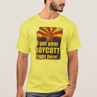 I got your Boycott right here! Arizona Immigration T-Shirt