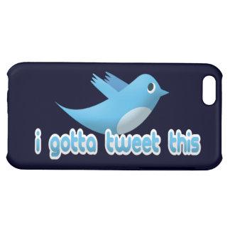 I Gotta Tweet This Twitter Bird iPhone Case Cover For iPhone 5C