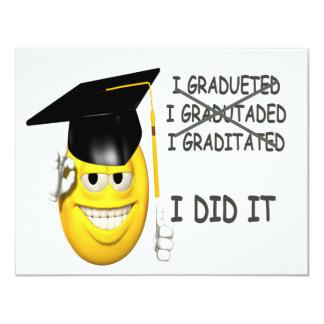 I Graduated Card
