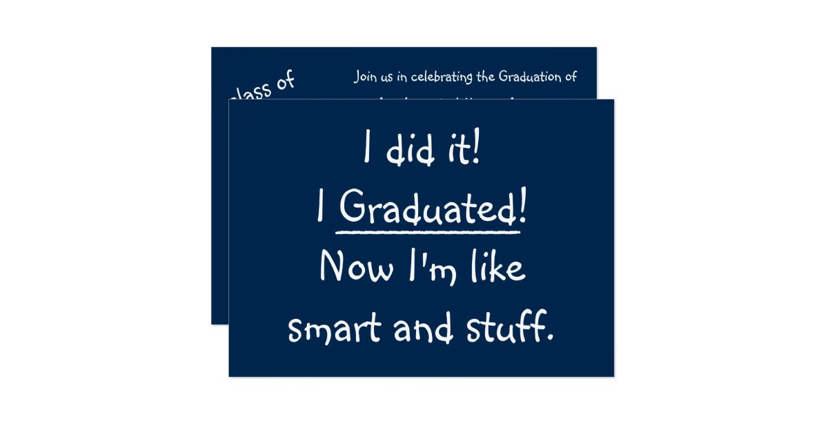 Graduation Party Invitations Announcements – Invitation to Graduation Party