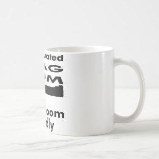 I Graduated Mag Num Boom Loudly Coffee Mug