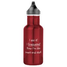 Graduate Class Water Bottles No Minimum Quantity Zazzle